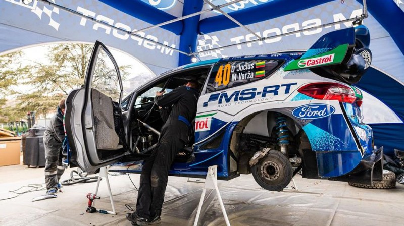 Jociusa ''Ford Fiesta WRC'' automašīna