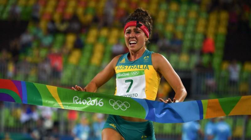 Hloja Espozito pirms četriem gadiem Rio spēlēs. Foto: AFP / Scanpix