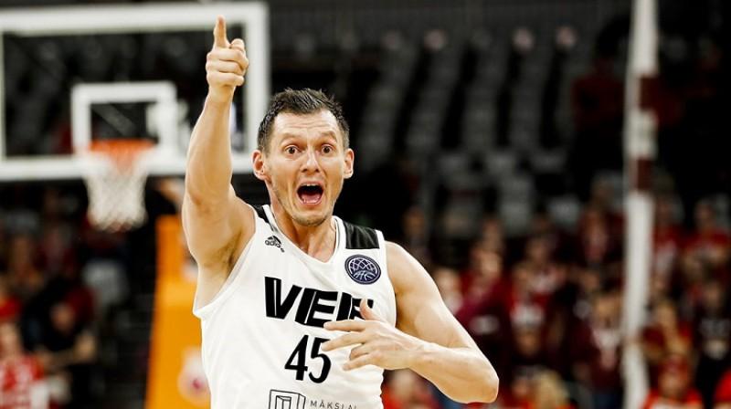 Jānis Blūms 2020. gada 21. janvārī Bambergā. Foto: FIBA