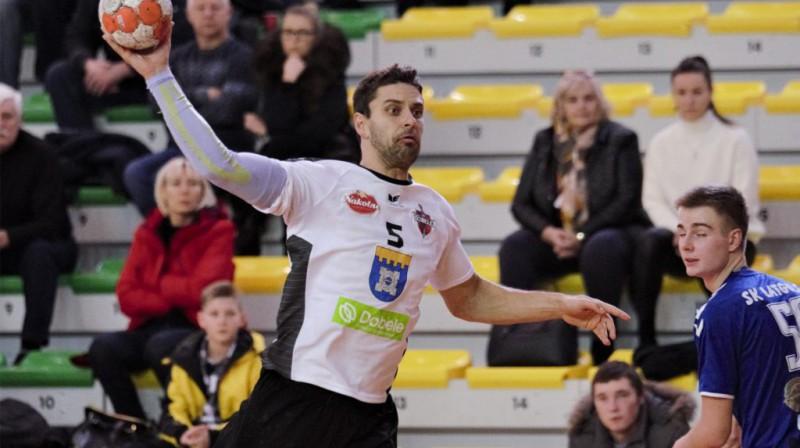 Māris Veršakovs. Foto: handbols-dobele.lv