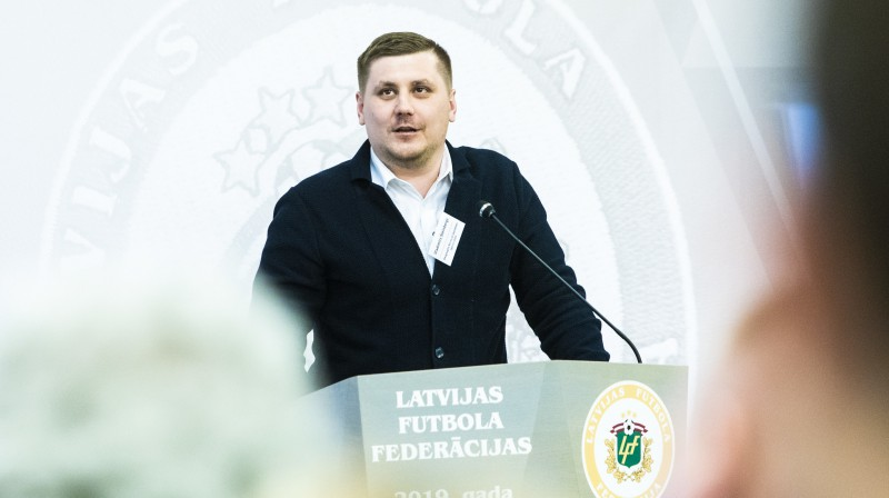 Vladimirs Šteinbergs. Foto: LFF