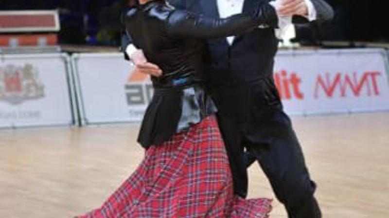 Sergejs un Kristīne Latņikovi. Foto: no pāra privātā arhīva.