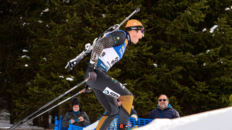 Andrejs Rastorgujevs. Foto no Latvijas Biatlona federācijas Facebook profila