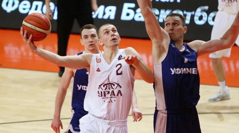 Artūrs Ausējs (Nr. 2). Foto: russiabasket.ru