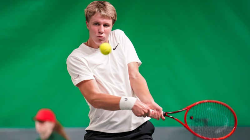 Kārlis Ozoliņš. Foto: Latvijas Tenisa savienība