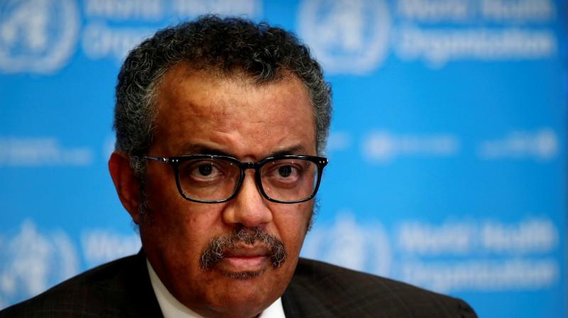 Pasaules Veselības organizācijas vadītājs Tedross Adhanoms. Foto: Reuters/Scanpix