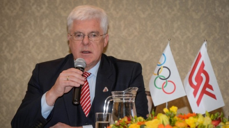 LOK prezidents Aldons Vrubļevskis. Foto: Zigismunds Zālmanis, olimpiade.lv