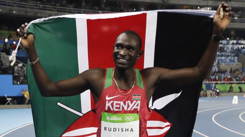 Divkārtējais olimpiskais čempions Deivids Rudiša. Foto: AP/Scanpix