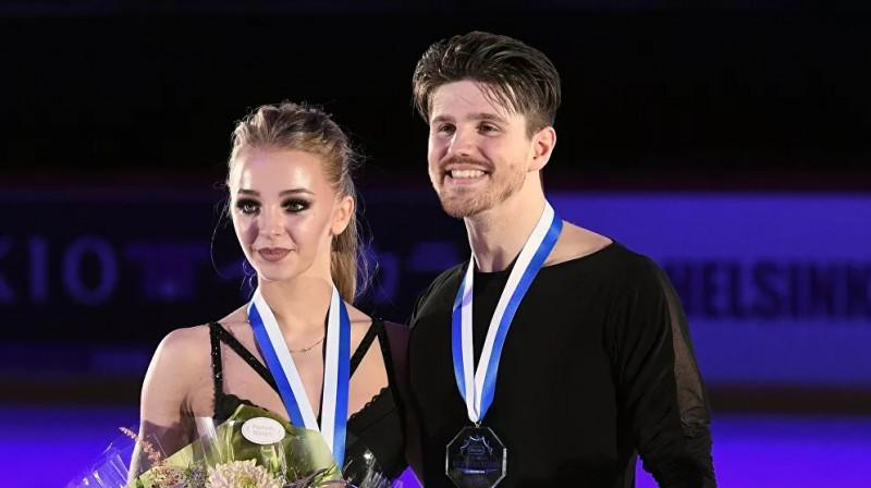 Aleksandra Stepanova un Ivans Bukins. Foto: Aleksejs Daničevs, rsport.ria.ru