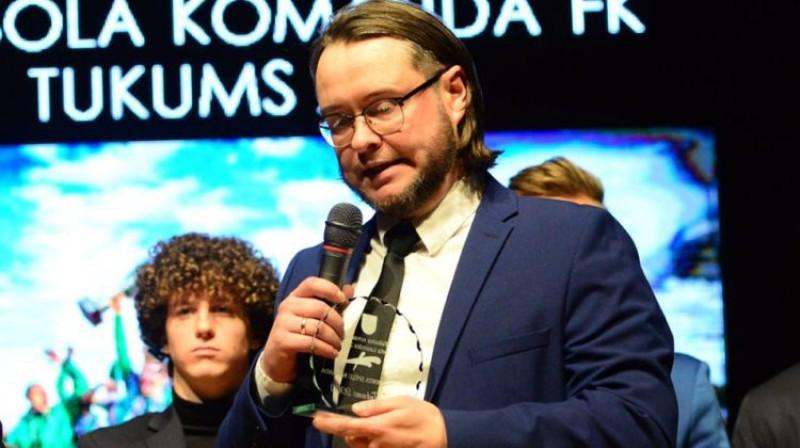 Verners Akimovs. Foto: FK Tukums 2000