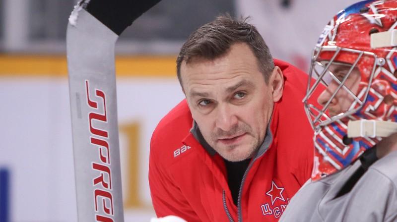Sergejs Naumovs. Foto: cska-hockey.ru