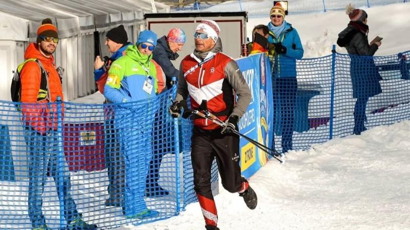 Ilmārs Bricis. Foto: Latvijas Biatlona federācija