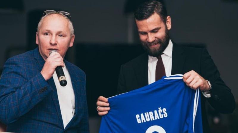 Edgars Gauračs (pa labi). Foto: Rēzeknes BJSS Facebook