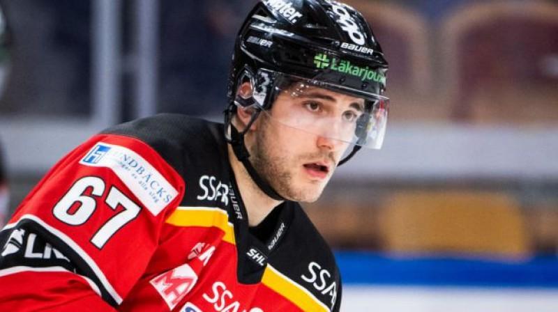 Konstantīns Komareks. Foto: Bildbyrån / hockeysverige.se