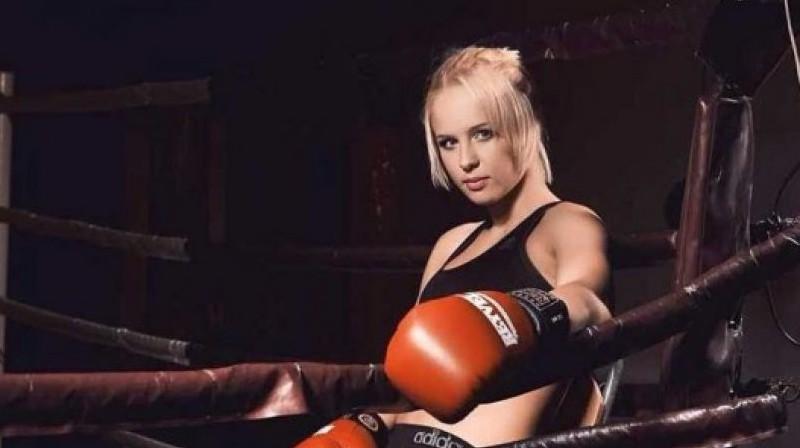 Oļena Koļesņika. Foto: fightnews.info