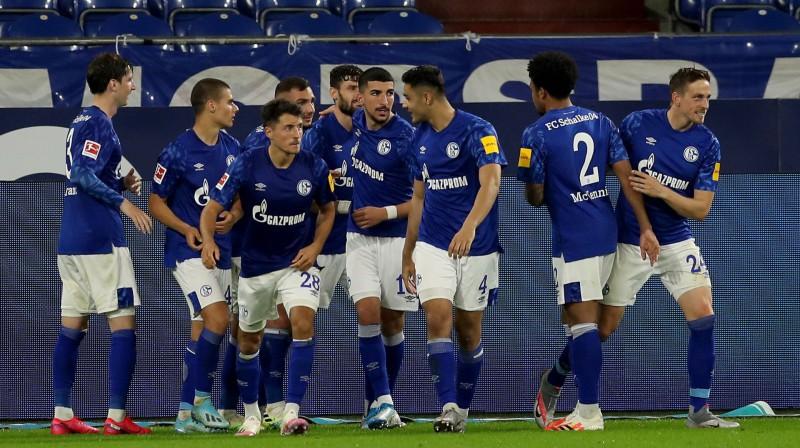 """""""Schalke 04"""". Foto: Scanpix/EPA"""