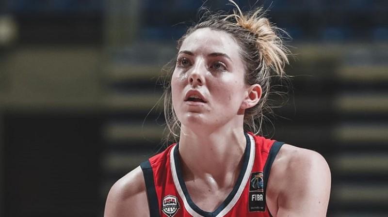 Keitija Lū Semjuelsone. Foto: USA Basketball