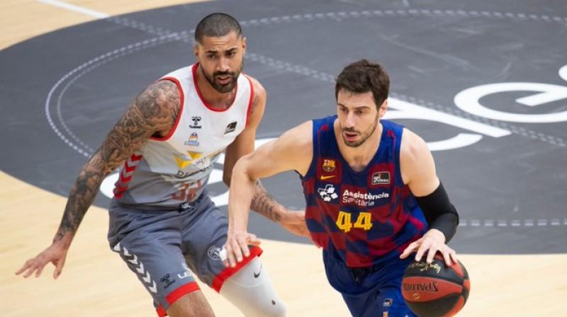 Ante Tomičs. Foto: Barca Basket