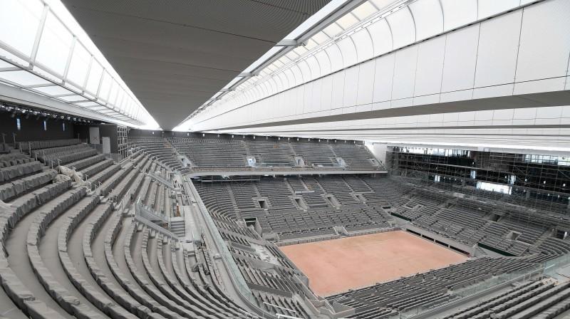 Filipa Šatriē stadionam tagad ir jumts. Foto: SIPA/Scanpix