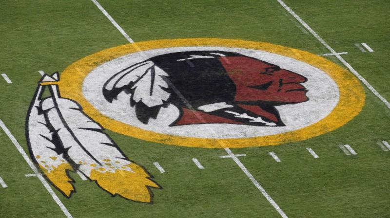 """Vašingtonas """"Redskins"""" logo Foto: AP/Scanpix"""