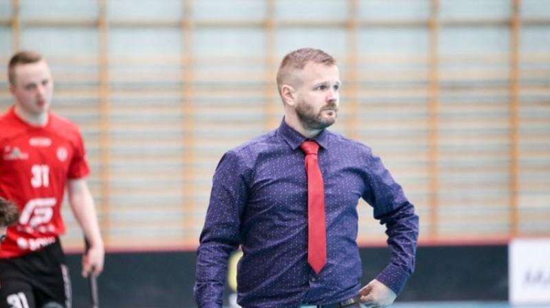 Kaspars Kreimanis Foto: Floorball.lv