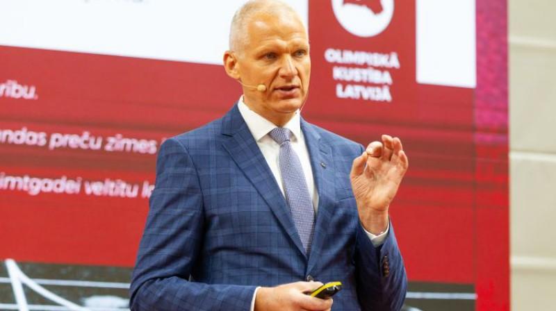 Žoržs Tikmers. Foto: Vadims Morozovs/LOK arhīvs