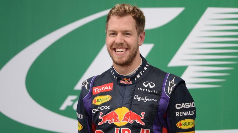 "Sebastians Fetels ""Red Bull"" laikos. Foto: Motorsport.com"
