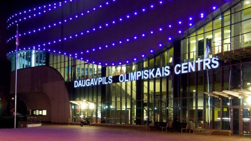 Daugavpils Olimpiskais centrs. Foto: daugavpilsoc.lv