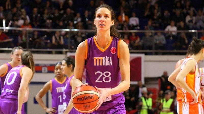 Kristīne Vītola. Foto: FIBA