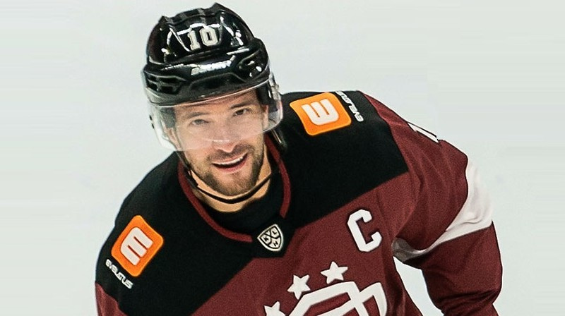 Lauris Dārziņš. Foto: KHL