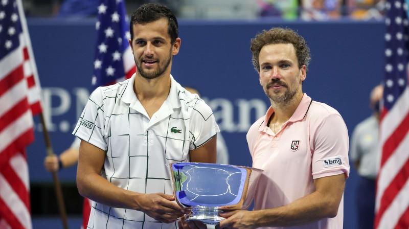 Mate Pavičs un Brunu Suaress. Foto: AFP/Scanpix