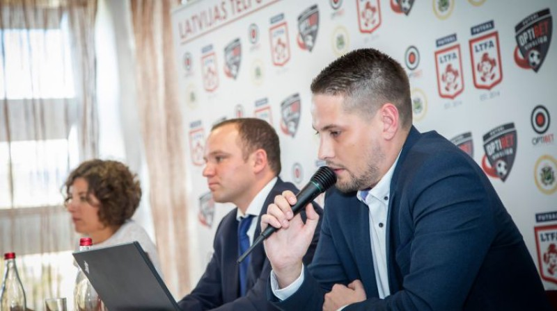 Jānis Nartišs iepriekšējā LTFA kongresā. Foto: LTFA