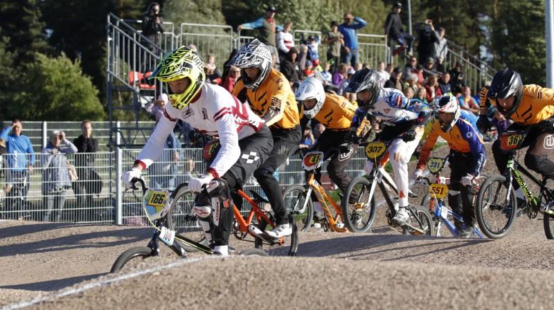 SMScredit.lv BMX čempionāta sezona finišēs Valmierā Foto: Sanda Tūtere