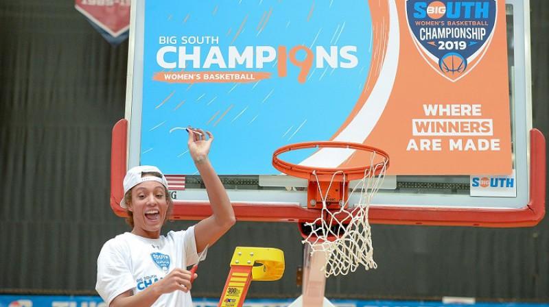 """Lidija Riversa: """"Big South"""" līgas čempione un vērtīgākā spēlētāja. Foto: Radford"""