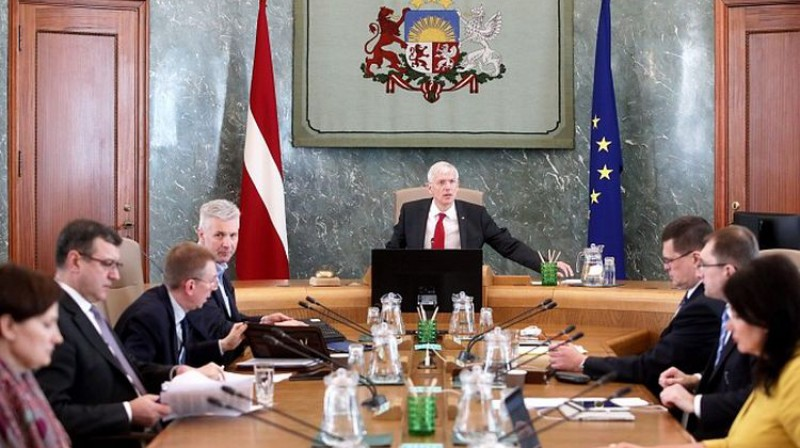 Ministru kabineta sēde. Foto: MK