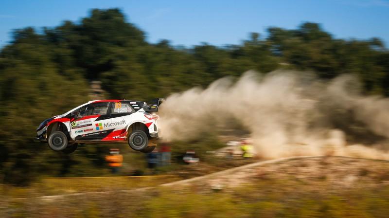 Elfins Evanss. Foto: Toyota Gazoo Racing
