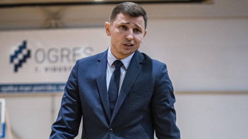 "Nikolajs Mazurs: otrā sezona Ogrē. Foto: Jānis Martels, BK ""Ogre"""