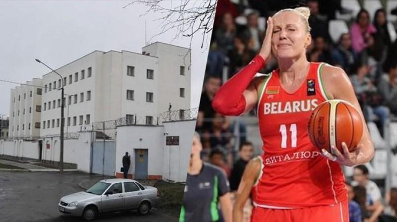 Jeļena Ļevčanka apcietinājumā atrodas no 30. septembra. Foto: Twitter