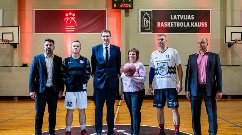 Normunds Feierbergs (#11) Latvijas kausa atklāšanas spēlē Rugājos 19. septembrī. Foto: Basket.lv