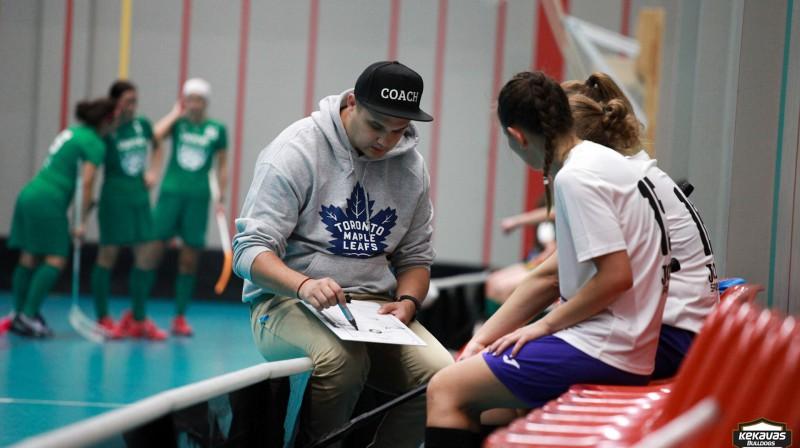 Oskara Repkes trenētā komanda šovakar var nostiprināties tabulas galvgalī Foto: PPB Media