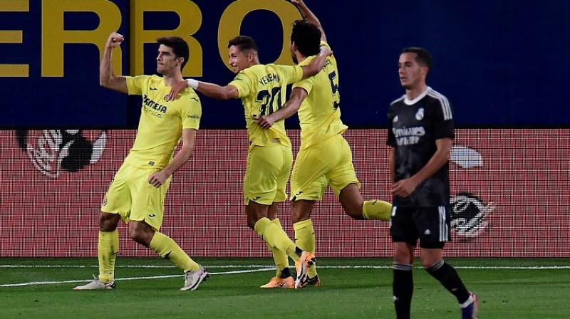 """""""Villarreal"""" prata izlīdzināt rezultātu. Foto: AFP/Scanpix"""