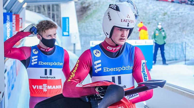 Mārtiņš Boris un Roberts Plūme. Foto: Mareks Gaļinovskis