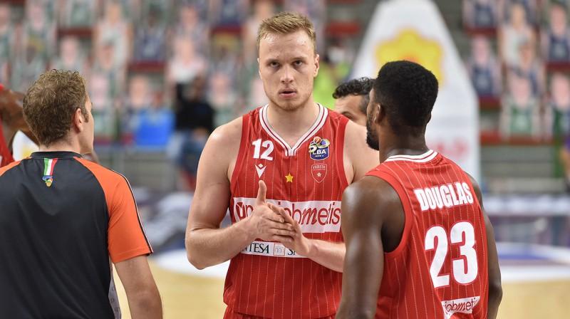 Artūrs Strautiņš. Foto: pallacanestrovarese.it