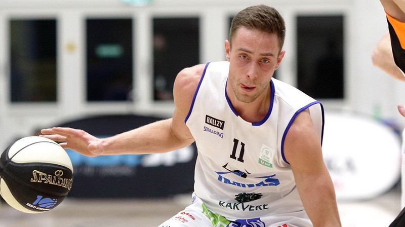 Kristaps Gludītis. Foto: Sīms Semiskars/Basket.ee