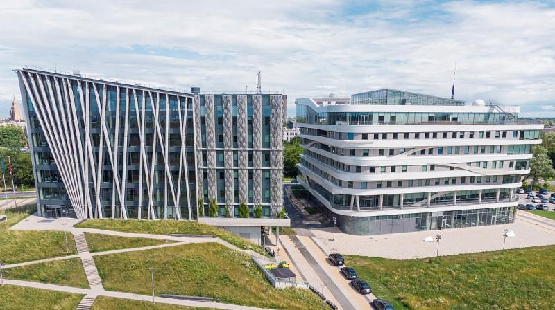 LU Akadēmiskais centrs Torņakalnā. Foto: Toms Grīnbergs, Latvijas Universitāte