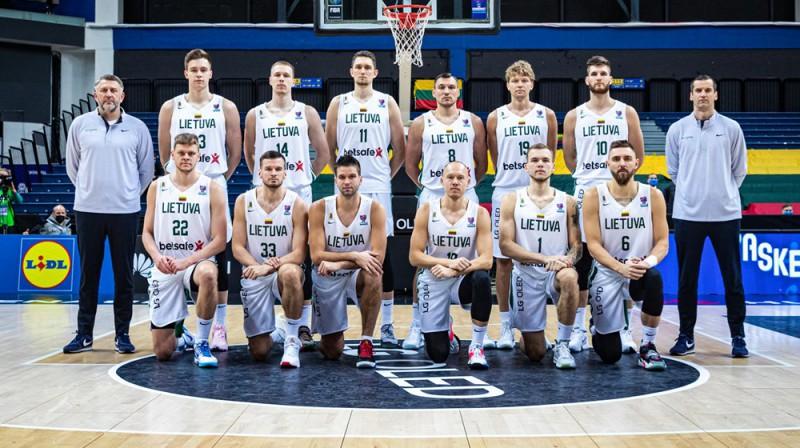 Lietuvas izlase. Foto: FIBA