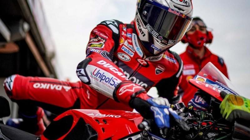 Andreā Doviciozo. Foto: Ducati Corse