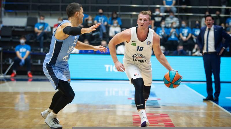 Ar bumbu Jānis Kaufmanis. Foto: vtb-league.com