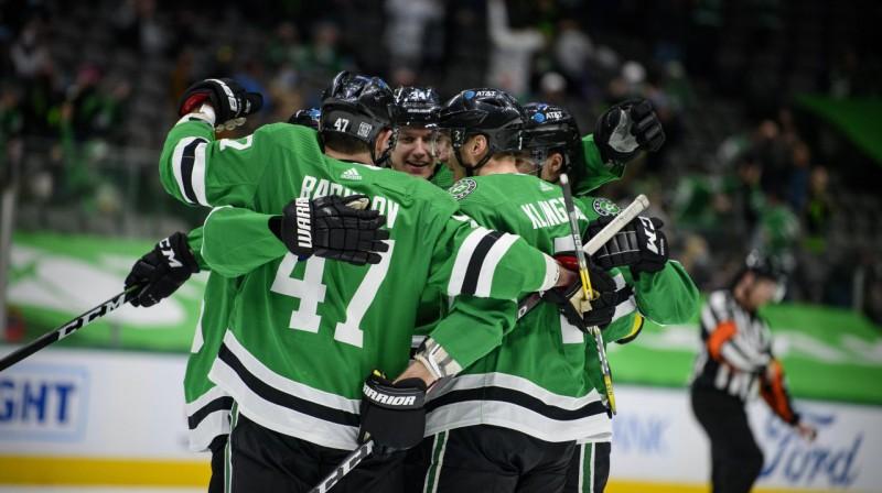 Dalasas ''Stars'' hokejisti. Foto: USA Today Sports/Scanpix
