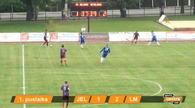 19:00 FK Jelgava - Liepājas metalurgs